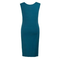 Sleeveless Maternity Dress, Blue