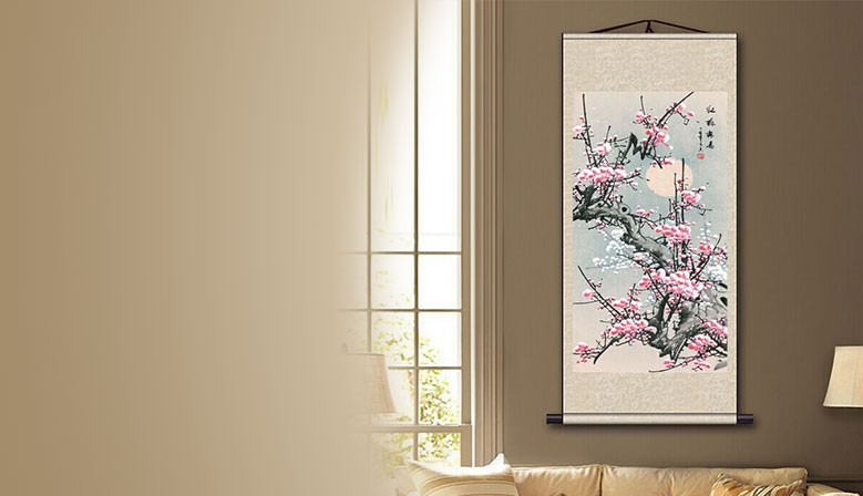 LITHOGRAPH WALL SCROLLS